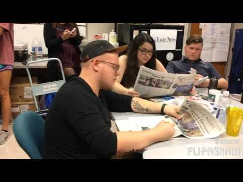 Eagle News, ENTV and Eagle Radio take on the #mannequinchallenge