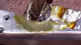 aluminum brazing custom rc crawler bumper
