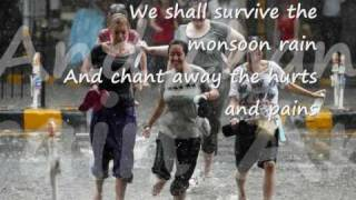 Monsoon Dance - Lirik