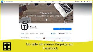 So teile ich meine Projekte auf Facebook