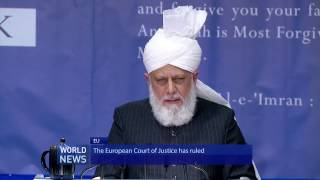 Ahmadi Muslim women react to EU Court's Hijab ruling