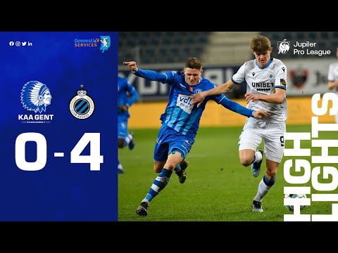 Gent Club Brugge Goals And Highlights
