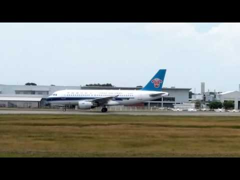 "China Southern""s second chartered flight to MKZ"