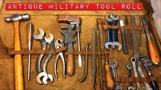 Antique Military Tool Roll