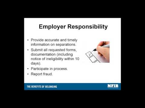 NFIB Webinar on Illinois Unemployment Insurance Law Changes