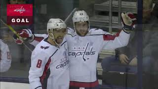 BACKSTROM SCORES IN FINAL MINUTE TO GET CAPITALS OVER BLUE JACKETS