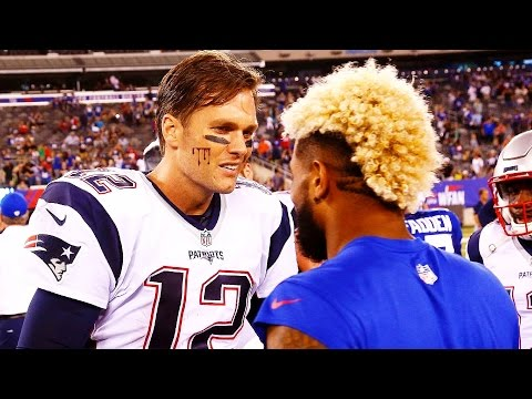 TOM BRADY FIGHTS ODELL BECKHAM JR. (Tom Brady vs Odell Beckham Jr. Fights) Madden 18