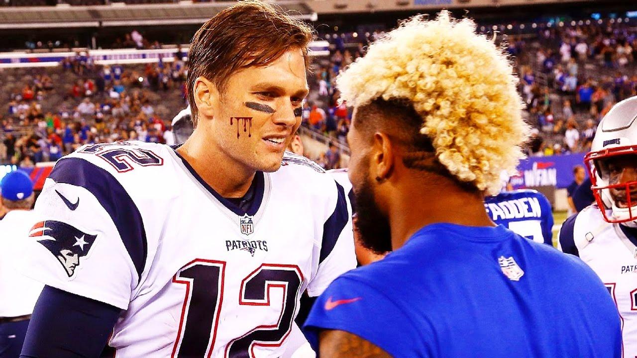TOM BRADY VS ODELL BECKHAM JR 1 on 1 Tom Brady vs Odell Beckham