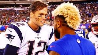 TOM BRADY VS ODELL BECKHAM JR. 1 on 1 (Tom Brady vs Odell Beckham Jr.) Madden 18