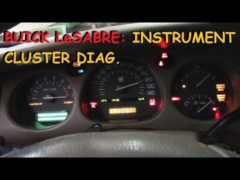 Buick LeSabre: Instrument Cluster Diagnosis