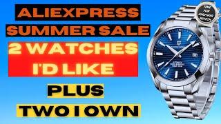 Фото Aliexpress Summer Sale * 2 Watches I'd Like, Plus 2 I Own *