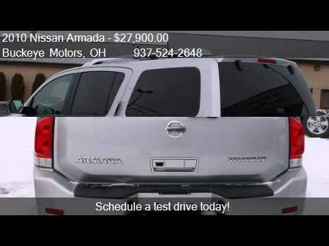 2010 Nissan Armada 4wd 4dr Titanium For Sale In Troy Oh