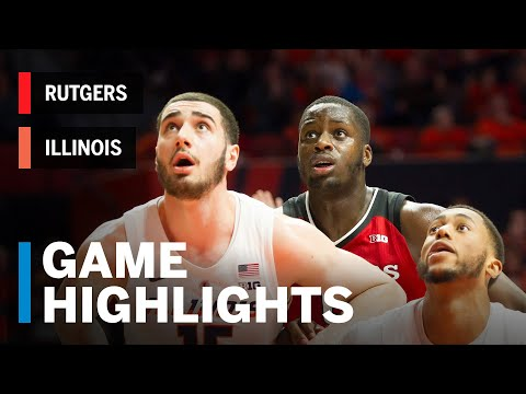 highlights:-rutgers-at-illinois-|-big-ten-basketball