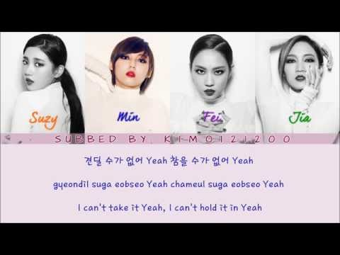 Miss A - Hush [Hangul/Romanization/English] Color & Picture Coded HD