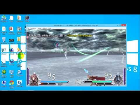Play PSP games on Windows PC using PPSSPP Emulator