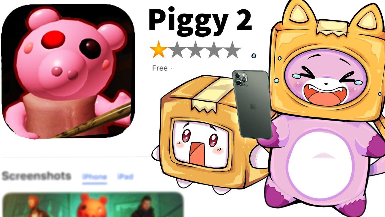 BOXY & FOXY Play TERRIBLE PIGGY RIPOFF APPS! (HILARIOUSLY BAD)