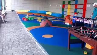 Детская площадка из EPDM крошки и резиновых фигур