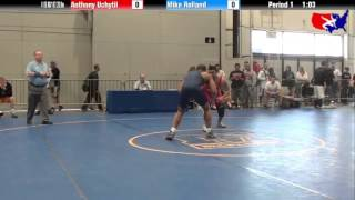 Anthony Uchytil vs. Mike Rolland at 2013 Veterans Nationals - Freestyle