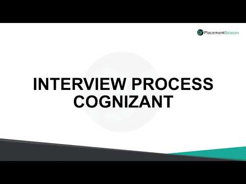 CTS Cognizant interview process