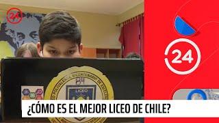 Reportajes 24: ¿Cómo es el mejor liceo de Chile?