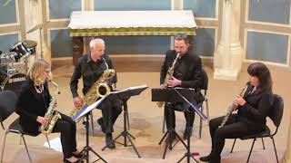Saxology saxophone quartet: Bohemian Rhapsody
