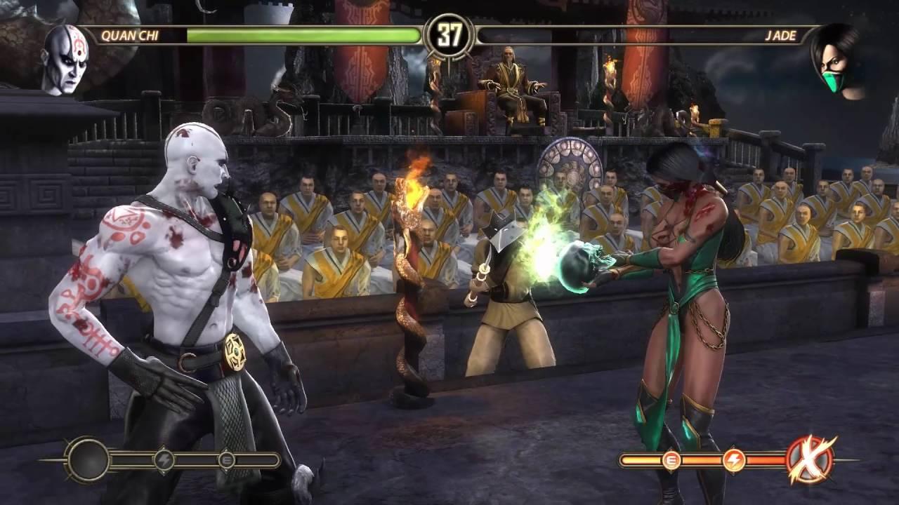 Mortal Kombat Komplete Edition - Jades Victory Pose