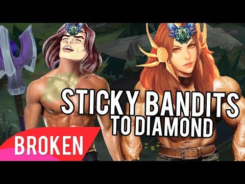 Unranked To DIAMOND In 30 GAMES With The Sticky Bandits Bot Lane - Leona + Taric Bot