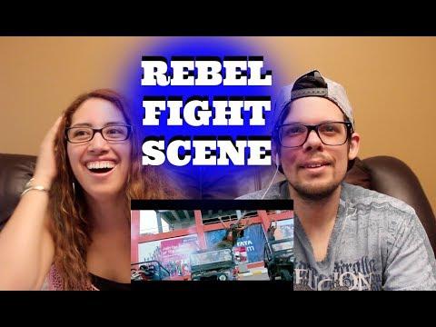 Rebel Movie Interval Fight Scene AMERICAN REACTION!