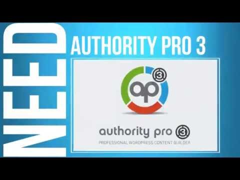 Authority Pro 3 Tutorial Video - How to Use Authority Pro 3