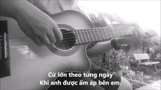Suy nghĩ trong anh - Guitar solo