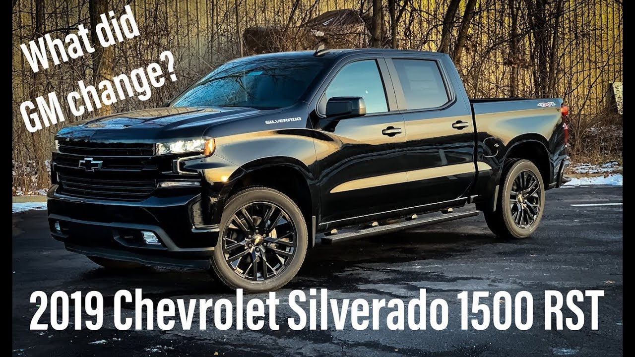 2019 Chevrolet Silverado 1500 RST FULL Review and ...