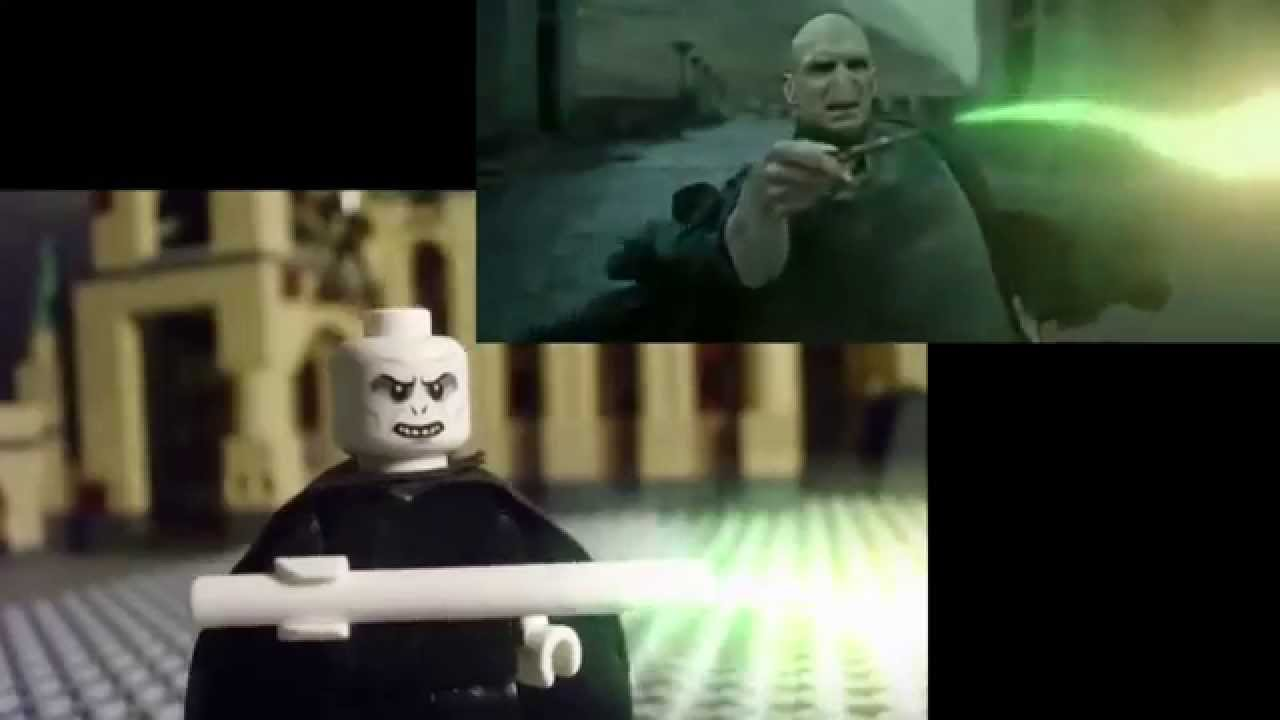 Lego Stop Motion Harry Potter Final Battle Youtube