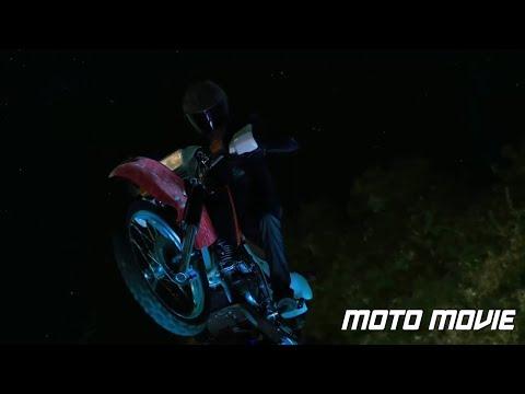 Josh Hutcherson Ride Honda XR 650 L /Journey 2: The Mysterious Island 2012