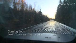 trailer - The Canadian, passenger train across canada