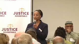 Sharanda Jones - Conversations on Justice (March 31, 2016)