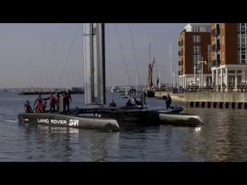 The America's Cup and British-Swedish partnerships in advanced materials