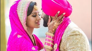 Punjabi Sikh Wedding Harvin + Ameni