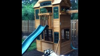 Cedar Summit Playset Build