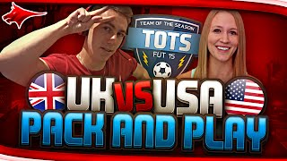 TOTS UK VS USA PACK AND PLAY !!!!