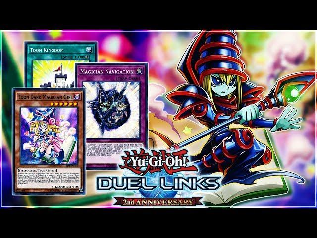 Yu-Gi-Oh! Duel Links | TOON DARK MAGICIAN OTK Deck! Classic Dark Magician Gets TOONIFIED!
