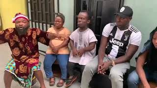 Oga Landlord praise and worship session with tenants (Part 2) - Nedu wazobia fm