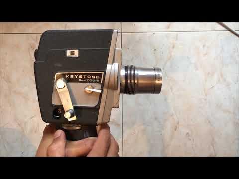 Cámara de video de Colección Keystone k-808 Zoom 8mm y Proyector