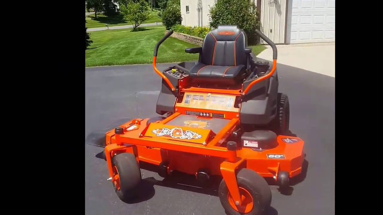 Lawn Striper demonstrated on 2016 Bad Boy 60 zero turn mower