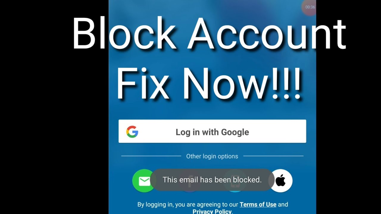 How To Fix Block Skout Account | Skout Email Block | 2020