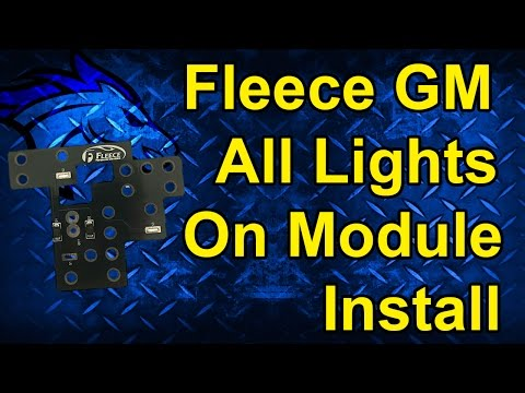 GM All Lights On Module by Fleece Performance Install: 03-07 Chevy/GMC