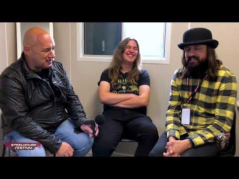 Massive Wagons Interview @ Steelhouse Festival 2018