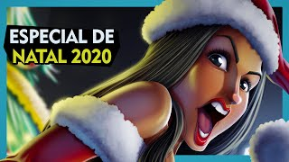 Pin-up de Natal: Mamãe Noel | Speed Painting
