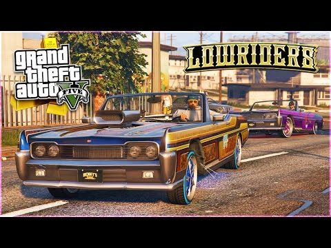 GTA 5 - $12,000,000 Spending Spree, Part 2! NEW LOWRIDERS DLC SHOWCASE! (GTA 5 DLC Gameplay)