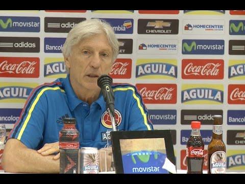 """""""Argentina viene con dificultades, debemos aprovechar la situación"""", afirmó  José Pekerman"""