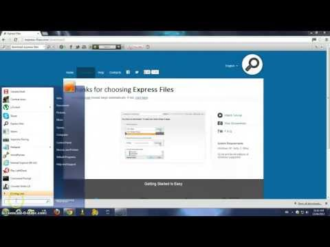 How To Download Express Files